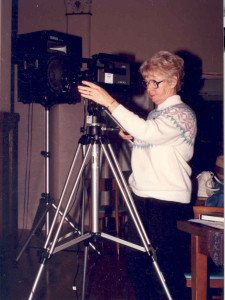 For many years, Sr. Ruth has been the Sisters' unofficial videographer
