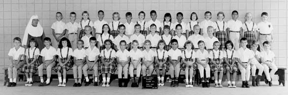 Holy Family Grade 3 1966