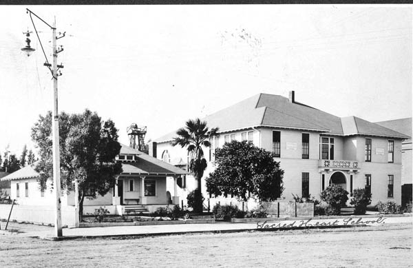 Sacred Heart School Salinas in the early days.