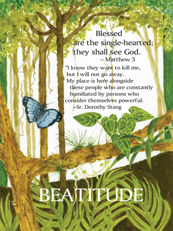 Blessed are the single-hearted… Novena Day 6