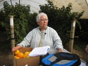 Sr. Rosa Dolores teaching in Pajaro