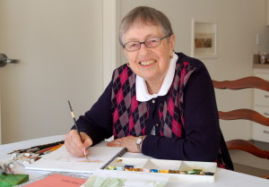 Sr. Margaret is a gifted artist.