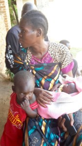 South Sudan: Displaced Mum - July 2016