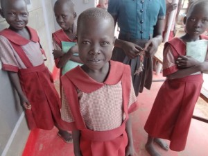 South Sudan - Loreto primary students